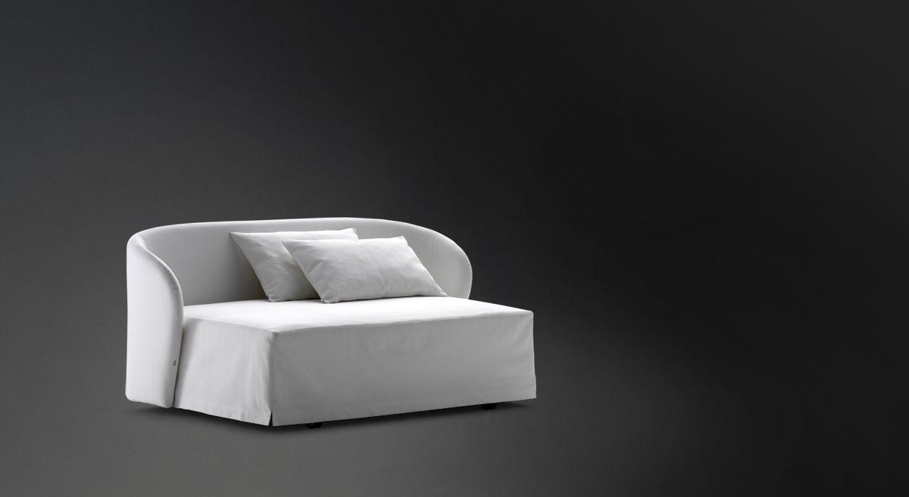 Flou letto c line divano - Letto singolo a divanetto ...